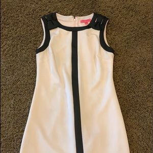 Pale Pink and Black Betsy Johnson dress